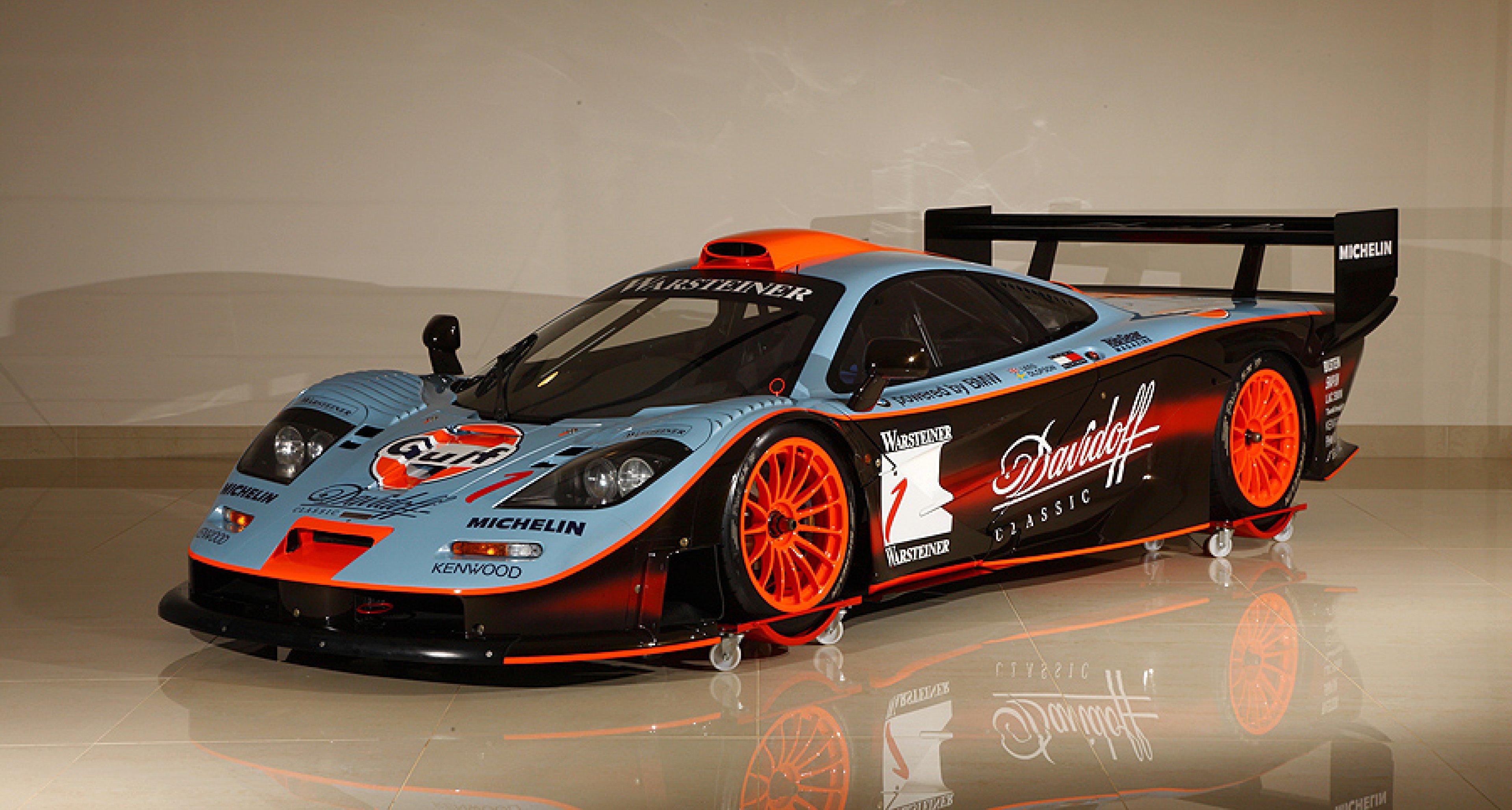 1997 McLaren F1 GTR Longtail To Star At Bonhams 2012