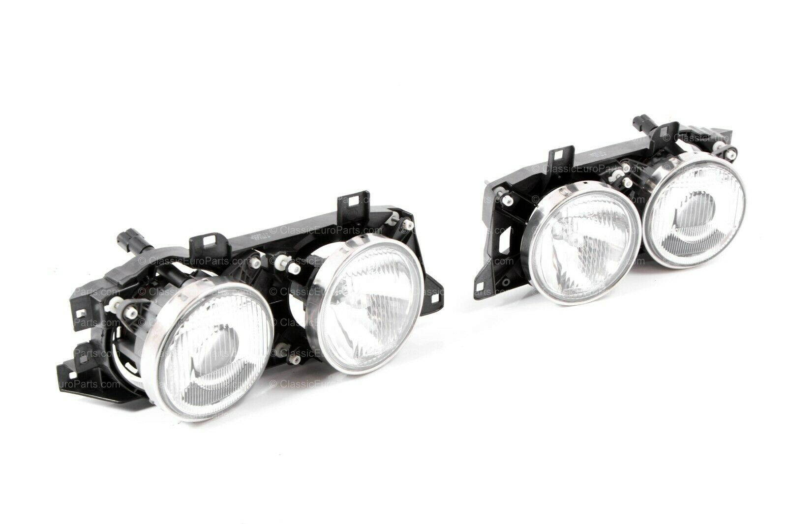 Euro smiley headlight set for E32 / E34