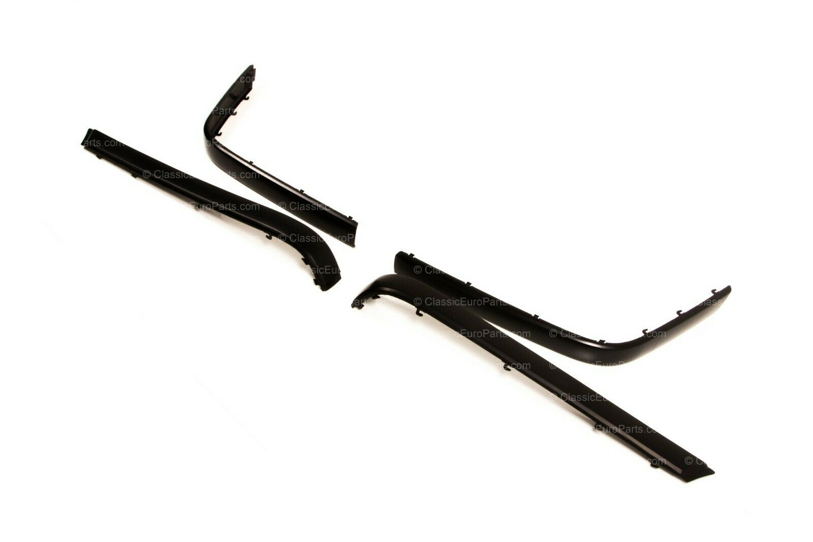Euro Front Amp Rear Bumper Trim Set For E34 Sedan Touring