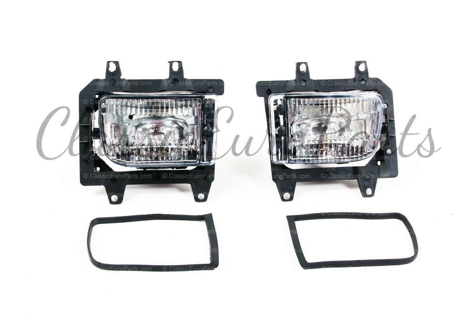 Fog lights with brackets for late model E30 and Mtech 2