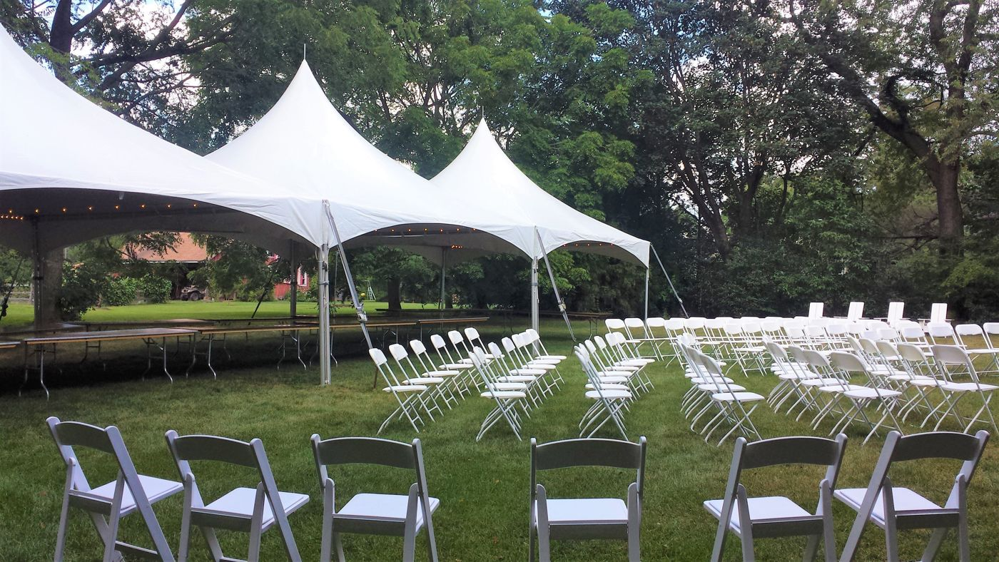 table and chair rentals in delaware star trek cape county chester party located tent