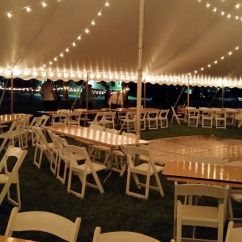 Table And Chair Rentals In Delaware Dark Wood Chairs County Chester Party Located Tent