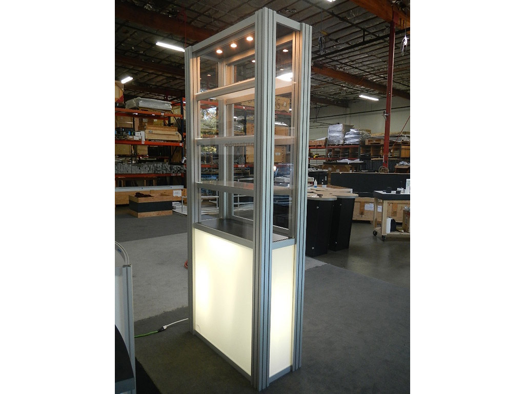 Exhibit Design Search  RE500  Single Display Case
