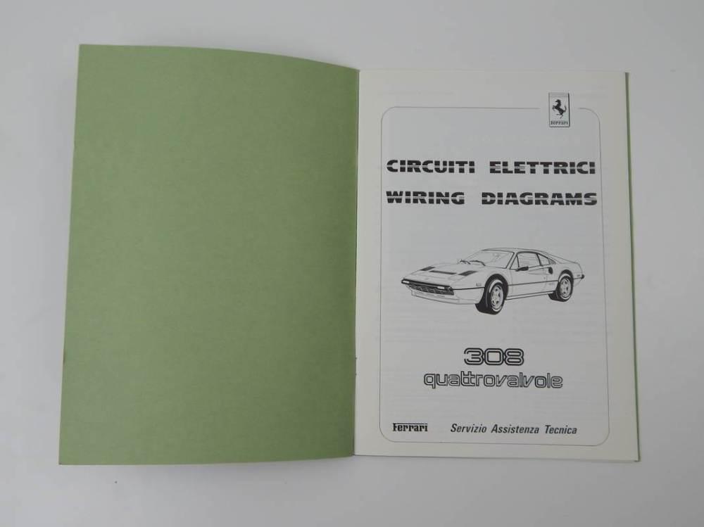 medium resolution of ferrari 308 qv wiring diagram manual classic ferrari parts ferrari electrical wiring diagram