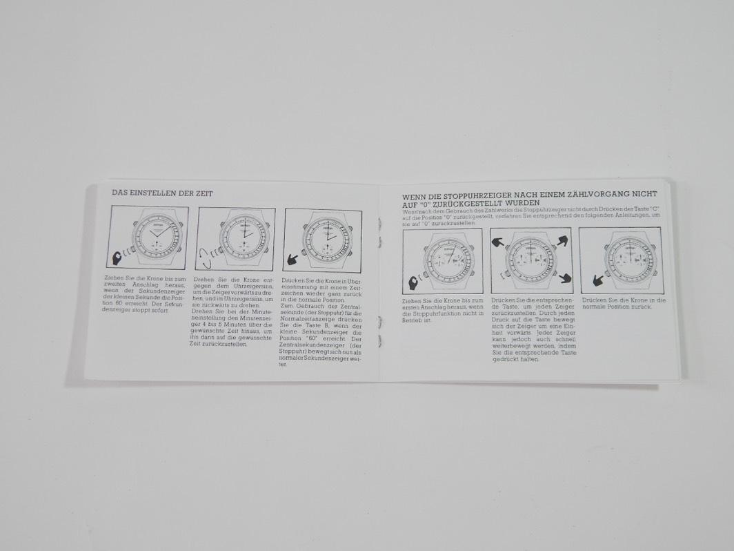 1980's Ferrari Formula Cartier Chronograph Watch