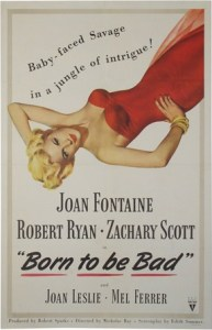 born to be bad 1950