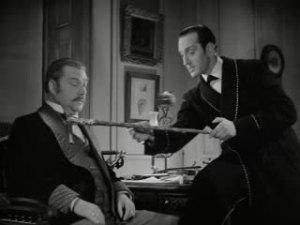 1939 Hound of the Baskervilles Nigel Bruce and Basil Rathbone 2