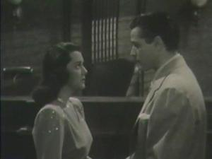 1946 Inside Job Ann Rutherford and Alan Curtis