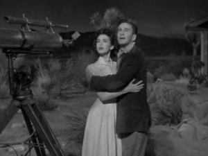 1953 It Came from Outer Space Richard Carlson and Barbara Rush 2