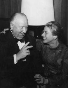 hitchcock and ingrid bergman