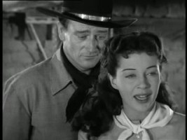 1947 Angel and the Badman John Wayne and Gail Russell 2
