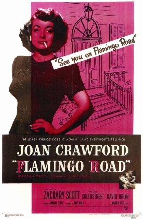 Movie Poster for 1949 film Flamingo Road