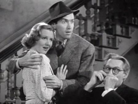 1938 You Can't Take It With You Jimmy Stewart Jean Arthur 2
