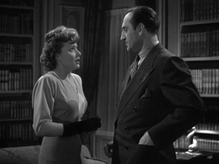 1942 Fingerprints at the Window Basil Rathbone and Laraine Day