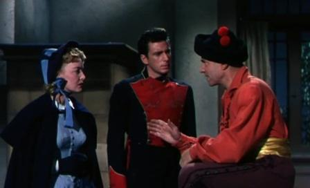 1954 Charge of the Lancers Jen-Pierre Aumont Richard Wyler Karin Booth