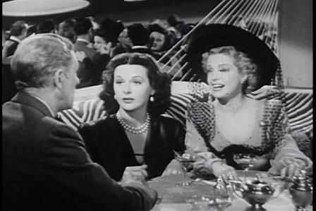 1947 Dishonored Lady Hedy Lamarr Natalie Schafer