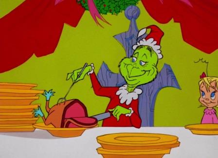 karloff apparently read the script perfectly on the first take but to make the voice of the grinch gruff and more distinct from the actors narration