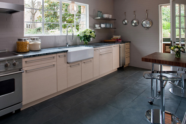 kitchen floors hardware cabinets flooring ideas classic floor designs you cook a lot or if simply want that doesn t require much more cleanup than simple sweeping and mopping at the end of day