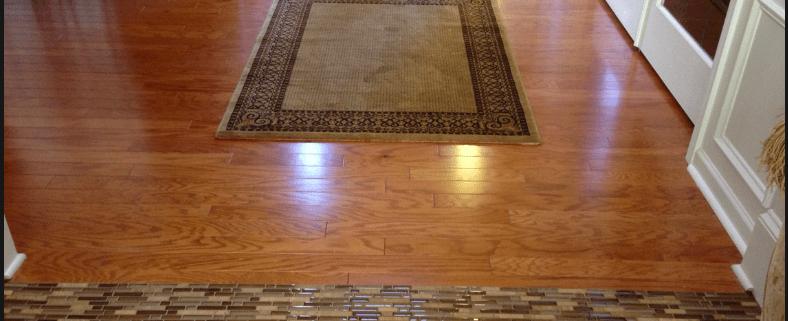 should hardwood floors match throughout