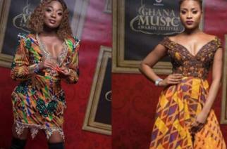 Efya, Adina Mirror The Chicest Side Of Kente You'd Never Seen Before