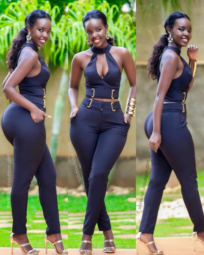 The Curvy Ugandan Model Breaking The Net & Making Ugandan Brand Glitz By Nalu Viral