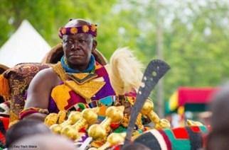 The Asantehene Otumfuo Osei Tutu II