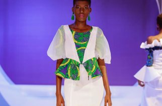 Amazing Dresses By Adiya Designs That Hit The Accra Fashion Week SH18 Runway