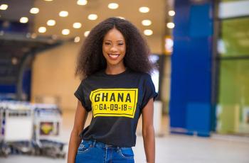 Miss Universe Ghana Diata, Departs To Miss Universe World