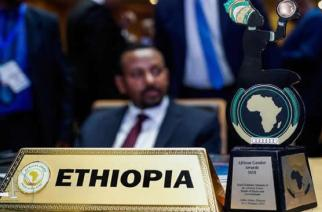 Ethiopia Prime Minister Bags 2018 African Gender Awards Plaque