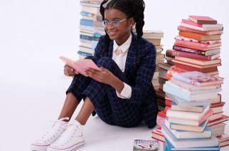 Marley Dias started a book drive, #1000BlackGirlBooks in November 2015 when she was in sixth grade. Pic credit: narratively.com