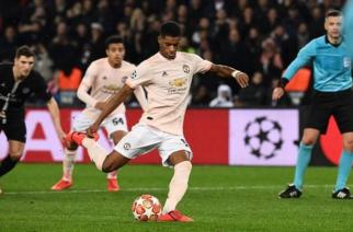 Rashford had never previously taken a penalty in a competitive game for Manchester United