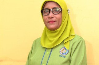 TRAGIC DEATH. Professor Hj Nurain Lubis dies tragically after being killed by her student. Photo from UMSU
