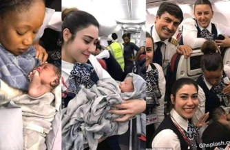 Turkish Air Gives Baby Born In Flight Lifetime Ticket And Visa