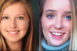 PHOTO: Lauren Patricia Catherine Tilley (left) and Bailey Jordan Chitty were found in the early hours of Wednesday June 12, 2018 at Kanyasi in Kumasi.