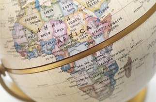 Globe showing Africa-- Picture: THINKSTOCK