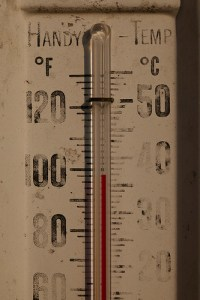 hot summer temperatures