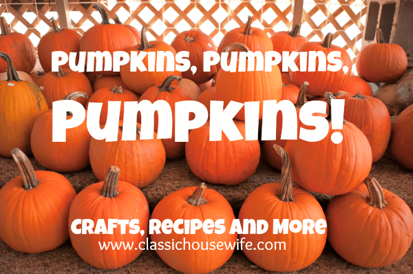 pumpkin crafts recipes