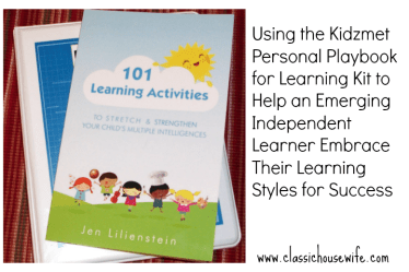 Kidzmet Playbook for Learning and 101 Learning Activities Book