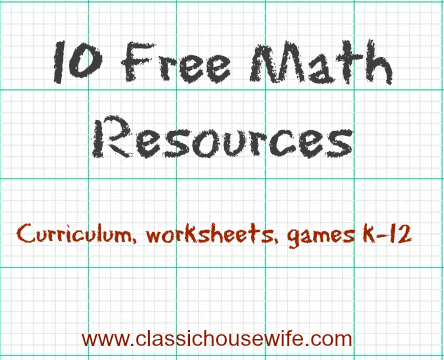 Free Math Resources