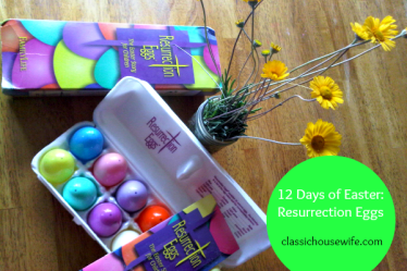 12 Days of Easter Resurrection Eggs