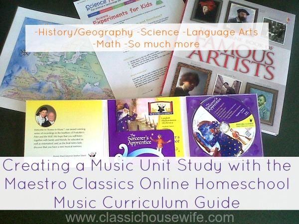 Maestro Classics Online Homeschool Curriculum Guide