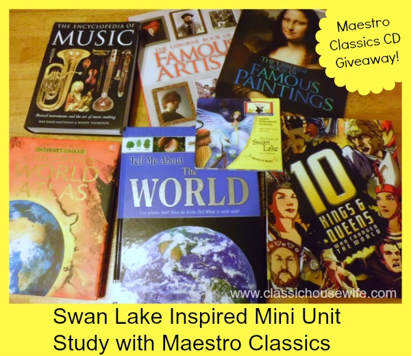 Swan Lake Maestro Classics Unit Study and Giveaway