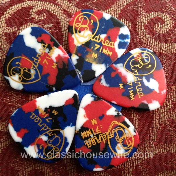 Guitar Pick Flower 2