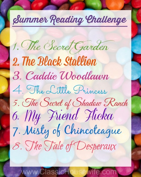 Summer Reading Challenge - Arielle