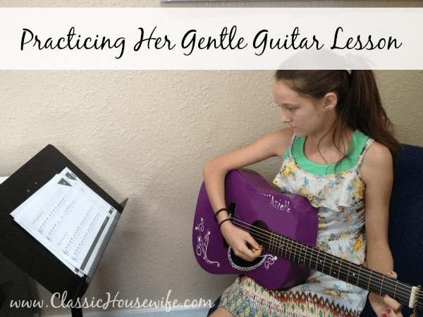 Gentle Guitar Practice for Online Lessons