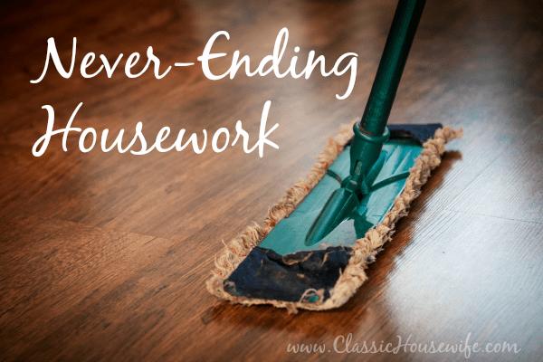 Never Ending Housework