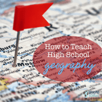 teaching high school geography