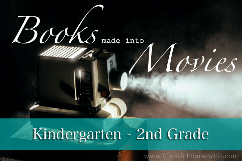 Books With Movies K-2