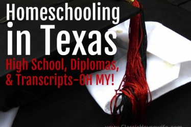homeschooling in texas high school diploma transcript