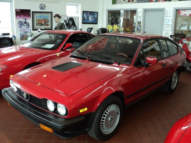 1986 alfa romeo gtv6 2 5 classic italian cars for sale. Black Bedroom Furniture Sets. Home Design Ideas